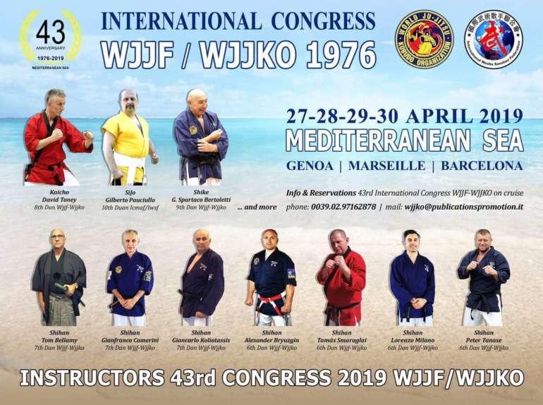 WJJF/WJJKO 43 International Congress